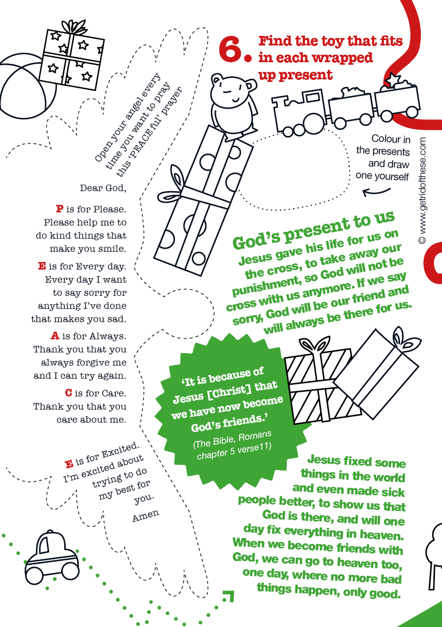 Nice Christmas Creative Kids Activity Sheets For Get Rid Of These ...