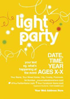 Light Party / Halloween