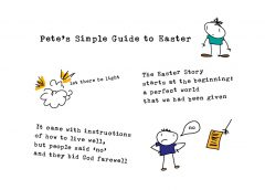 Stick Figure Easter Story