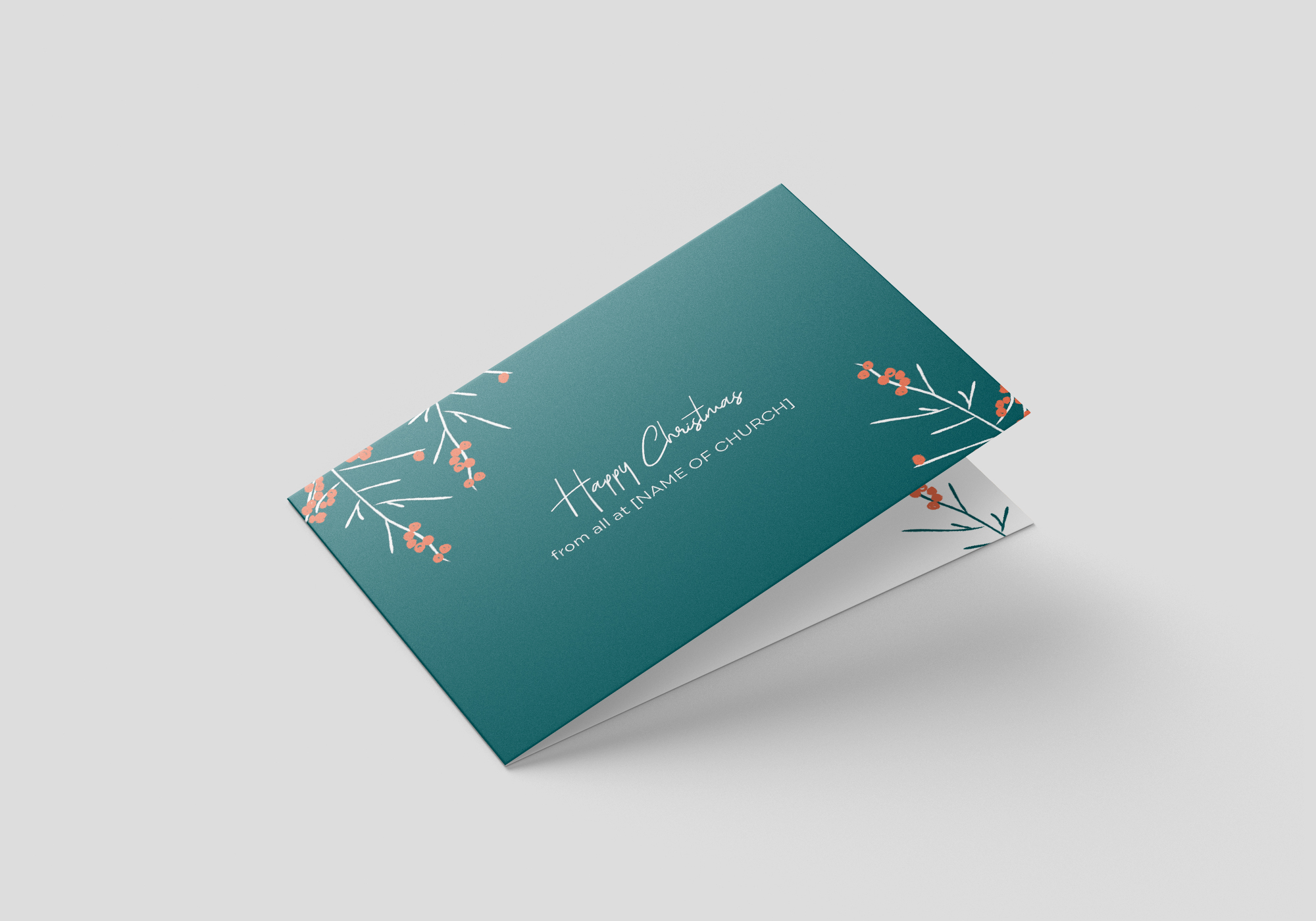 Get Rid Of These Berries Folded Card Invite