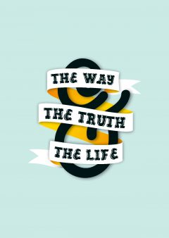 Way, Truth & Life - Blue