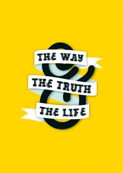 Way, Truth & Life - Yellow