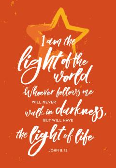John 8:12 Light of the World